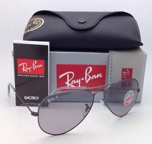 5475e3a04ecf6 Image is loading Ray-Ban-Polarized-Sunglasses-RB-3025-Aviator-Large-