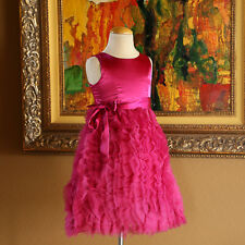 RARE EDITIONS Girls TULLE PARTY Dress GORGEOUS Size 6 EEUC