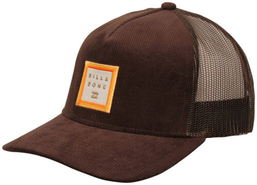 New Billabong Stacked Trucker Hat Brown