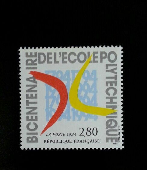 1994 France French Polytechnic Institute Scott 2407 Min