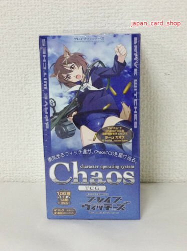 25226 Chaos TCG Booster Pack BRAVE WATCHES 20Pack BOX