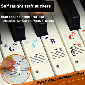 Universal-Piano-Learner-Stickers-Music-Piano88-61-54-49Key-Note-Keyboard-Decals