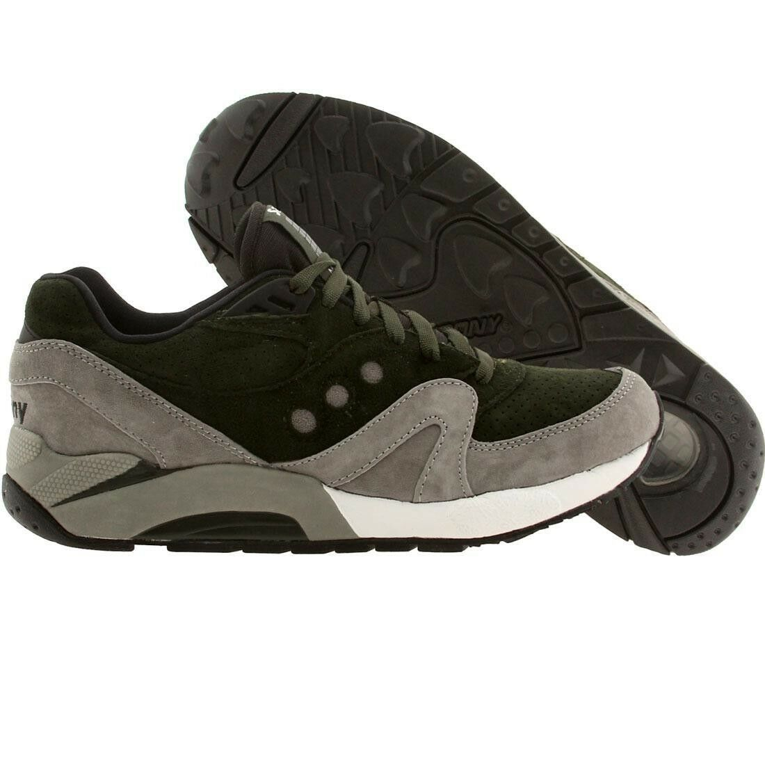 Saucony Men G9 Control Green Grey S70163-2