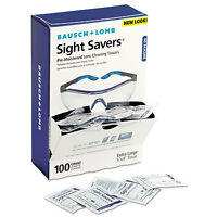 Bausch & Lomb Sight Savers Premoistened Lens Cleaning Tissues 100 Tissues/box on sale