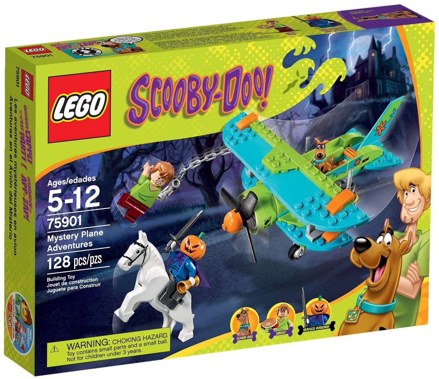BNIB Lego Scooby Doo 75901 Mystery Plane Adventures Adventures Adventures Shaggy pumpkin halloween f9ff8b