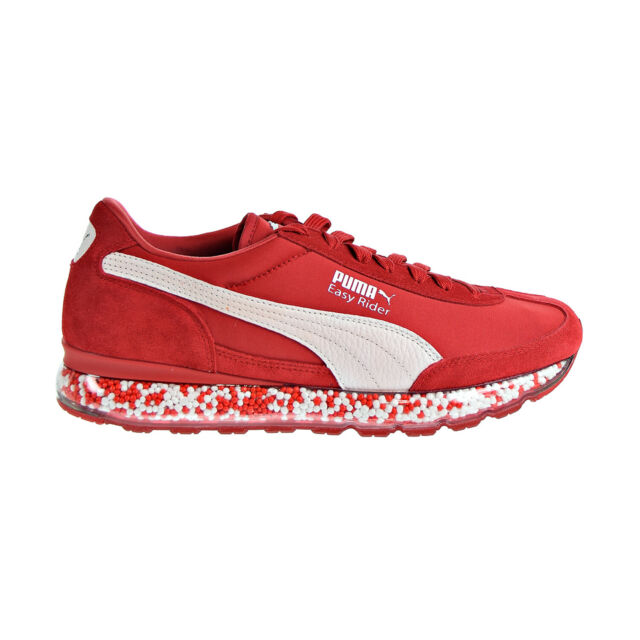 Puma Jamming Easy Rider Men's Shoes Ribbon Red-Puma White 367832-03