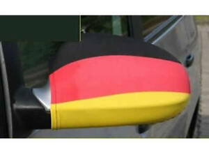 2x Deutschland WM 2018 EM Spiegel Überzieher Rückspiegel Flagge Fahne Auto Fan