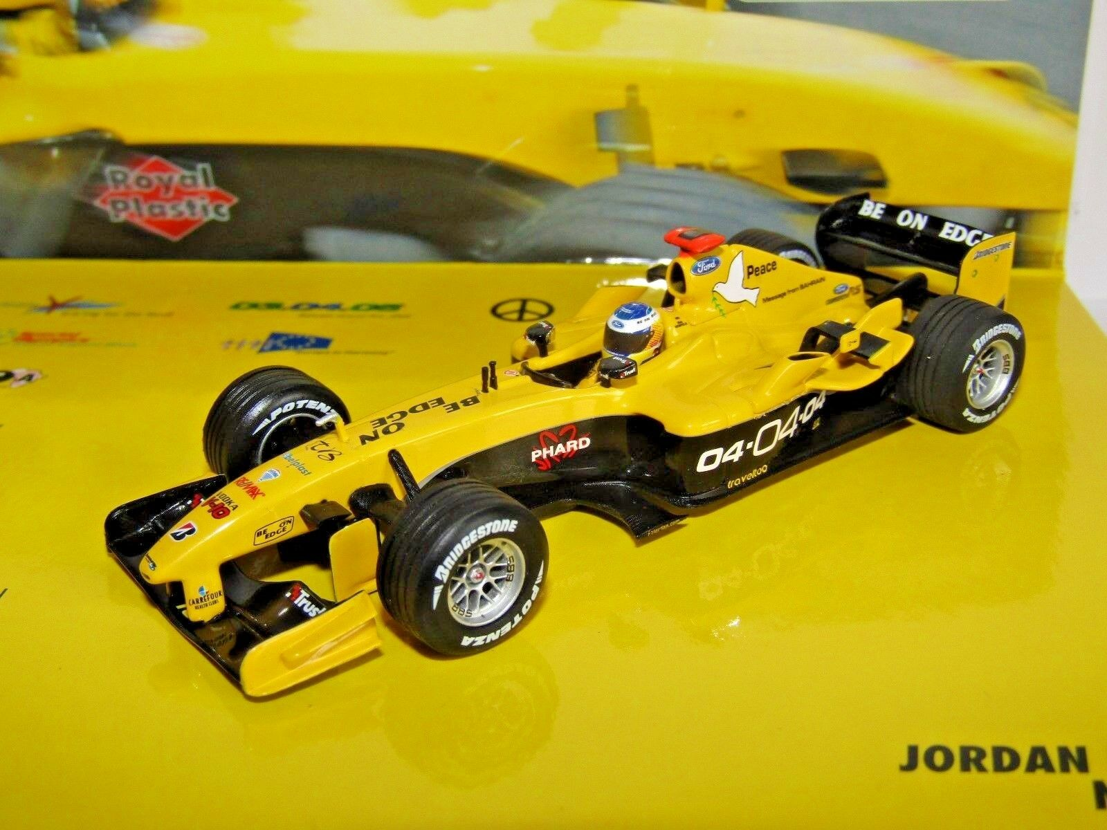MINICHAMPS F1 JORDAN EJ14 N HEIDFELD 1 43 COMMEMORATIVE BOX