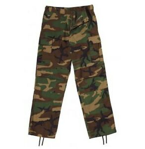 2941-Rothco-Woodland-Camo-Relaxed-Fit-Zipper-Fatigue-Pants