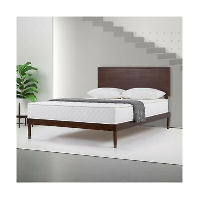 Slumber 1 By Zinus 8 Quot Spring Mattress In A Box White Full