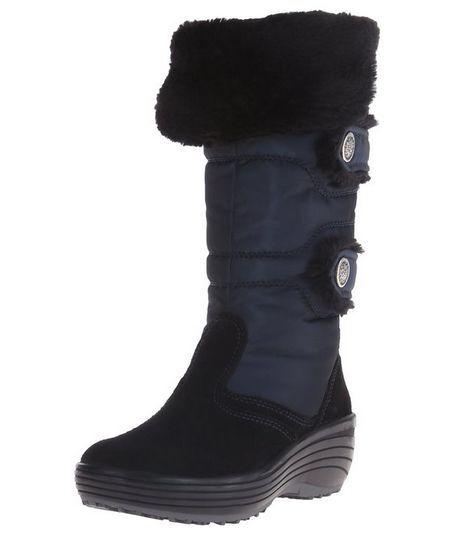 NIB Pajar Chloe Canada Chloe Pajar Snow Boot in Navy Blue 4a1c1e