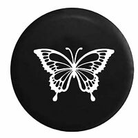 Butterfly Girls Monarch Endangered Jeep Spare Tire Cover Vinyl