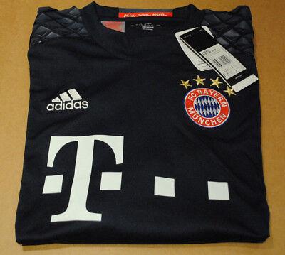 Billiger Preis Trikot Adidas Torwart Fc Bayern München Gr. 176 Langarm Climacool *neu*