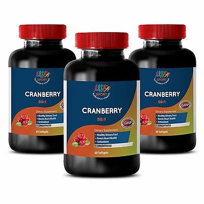 Bladder Health - Cranberry Extract 50:1 272mg - Organic Canberry 3B