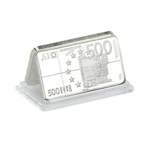 WR-Europe-500-Euro-Note-Silver-Foil-Bullion-Art-Bar-Business-Promotional-Gifts