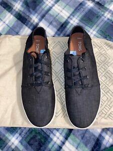 Toms Payton Canvas Lace Up Sneaker