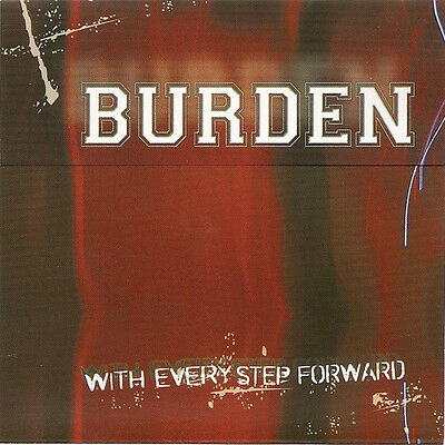 """Burden - With Every Step Forward 7"""" STRIFE JUDGE TRIAL ENSIGN FLOORPUNCH"""