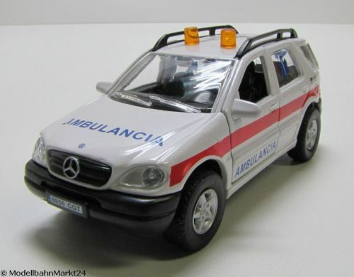 MERCEDES Benz ml320 ambulancia scala ca 1:43 Neuw OVP