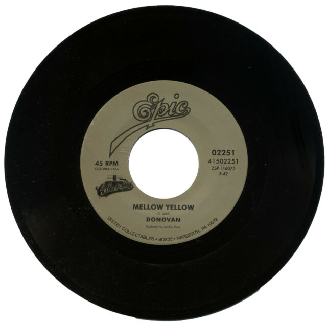 """""""Mellow Yellow"""" Donovan sonido clásico años 60! escucha!"""