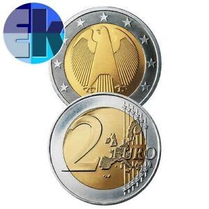 Ek // 2 euro Allemagne # Pièce Nueve : Sélectionnez une Année :
