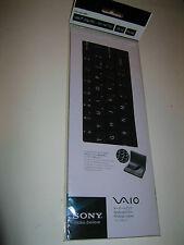 SONY VGP-AMKBL14/B VAIO FLIP PC LAPTOP KEYBOARD PROTECTOR SKIN, BLACK