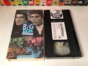 Big-Deal-On-Madonna-Street-Italian-Crime-Comedy-VHS-1958-Vittorio-Gassman-50-039-s