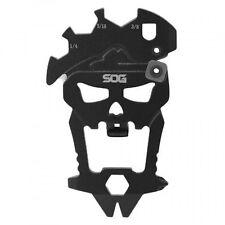 SOG MacV Tool MultiTool SM1001CP Hardcased Black, 12 Tools in One Bottle