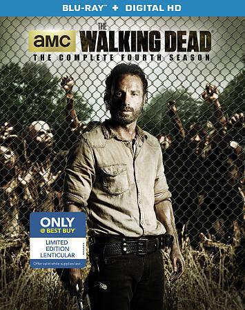 The Walking Dead Season 4 Blu Ray Disc Ultraviolet Only Best Buy For Sale Online Ebay