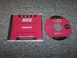 repair manual dodge dakota 2003