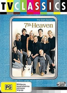 1 of 1 - 7th Heaven : Season 6 (DVD, 2009, 5-Disc Set) - Pal