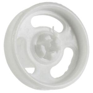 CANDY HOOVER véritable Lave-Vaisselle Inférieur fushia Panier Roue 4 X Roues