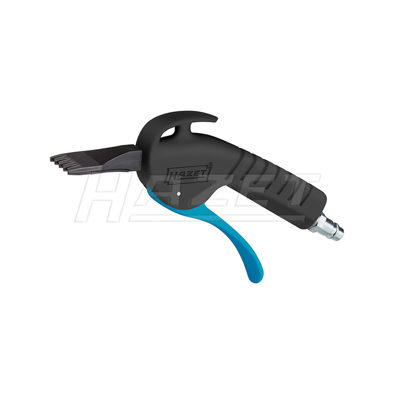 Hazet 9040P-5 Air blow gun, quiet with wide flat nozzle