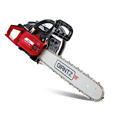 Giantz 52 CC Petrol Chainsaw Commercial E-Start 20 Bar Pruning Chain Saw Top