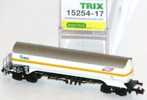 Minitrix-Trix-N-15254-17-Gaskesselwagen-Bauart-Zags-der-KVG-DEC-NEU-OVP