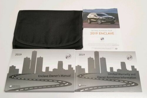 2019 BUICK ENCLAVE OWNERS MANUAL AVENIR PREMIUM LEATHER ESSENCE PREFERRED V6 NEW