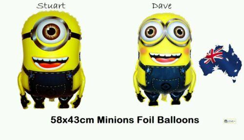 1 Pc 58x43cm Minion Foil Balloon Despicable Me Birthday Wedding Party Decoration