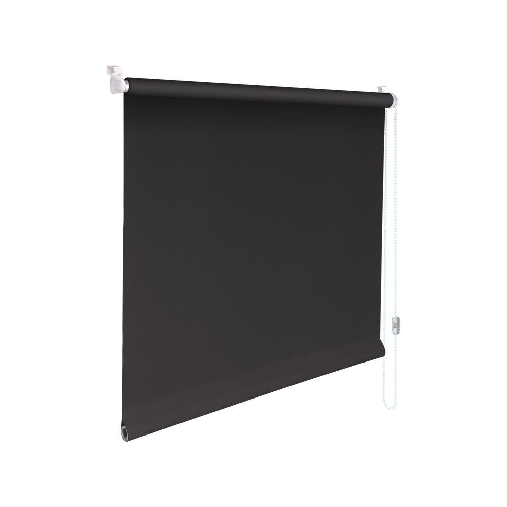 Minirollo Klemmfix Sichtschutz-Rollo - Höhe 170 cm dunkelgrau   Adoptieren