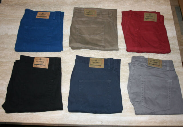 EX 3201 M&S BLUE HARBOUR LUXURY SUPER SOFT SUMMER WEIGHT JEAN 10 COLOURS