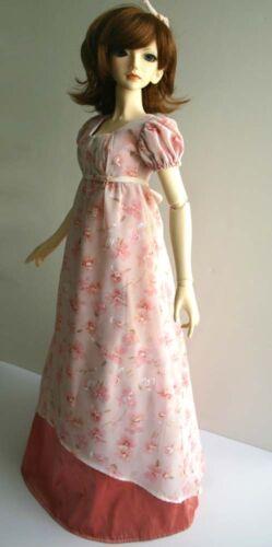Regency Dress Pattern for 58cm BJD SD