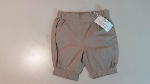 Vinrose Baby pantalon enfants pantalon bouffant shorts taille 56-86 couleur taupe coton NEUF