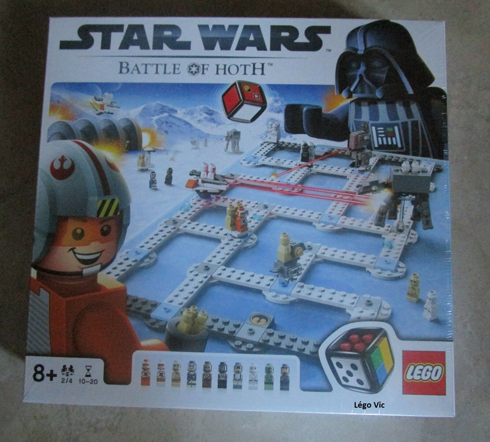 Lego 3866 Star Wars Battle of Hoth jeux de société New Neuf -CNB50 rare