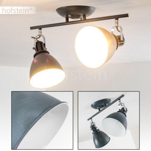 Vintage Decken Spot Diele Flur Küchen Leuchte Schlaf Wohn Zimmer Lampe grau//blau
