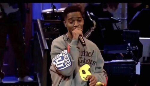 KSG FREEEE Kanye West Kid Cudi Kids See Ghost Sweatshirt Kendall Jenner Smile#