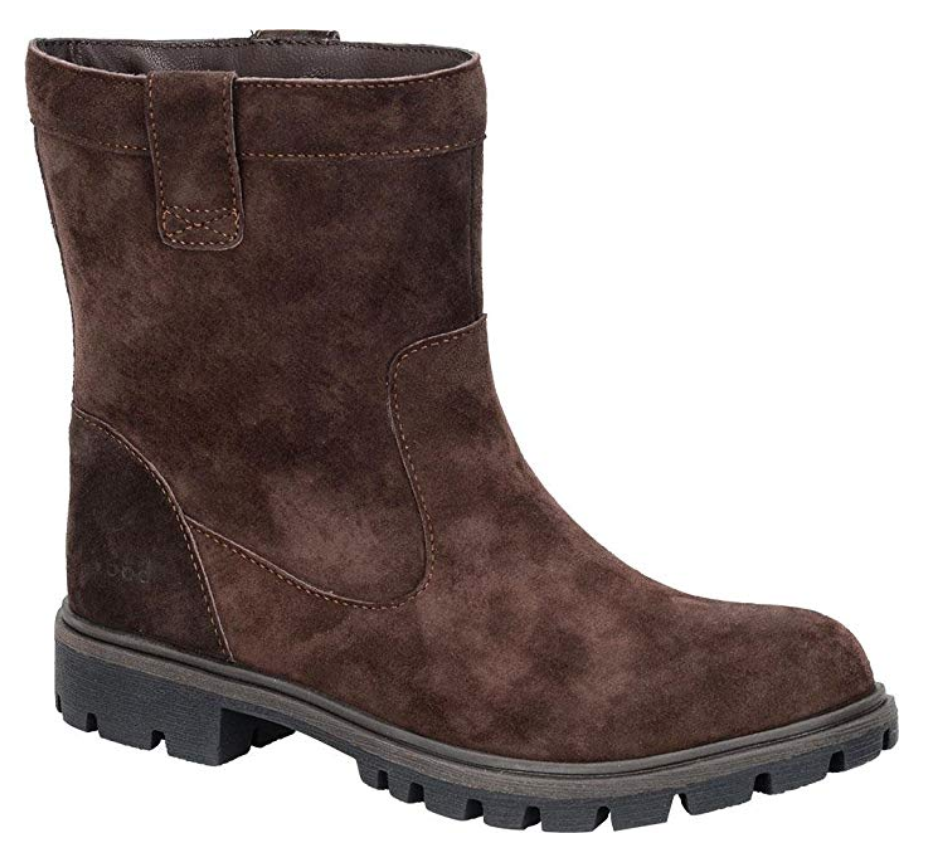NEW BORN B.O.C BOLSENA BROWN ANKLE BOOTS WOMENS 6.5  Z20023 WATER RESIST