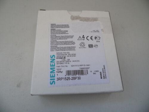 Siemens 3RP1525-2BP30 Zeitrelais Neu OVP