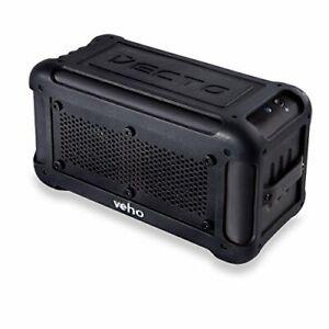 Veho-VXS-001-BLK-Vecto-Wireless-Water-Resistant-Bluetooth-Outdoor-Speaker-NEW