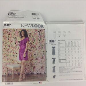 0157db64c9a NEW Look Pattern 6507  D0867 Off-Shoulder Dresses   Tops Sz. XS-XL ...