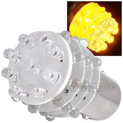 ONE PAIR of SUPER AMBER 1157 2057 36 LED LIGHT BULBS