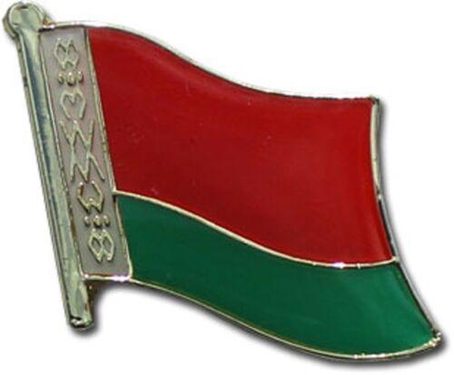 Wholesale Pack of 3 Belarus Country Flag Bike Hat Cap lapel Pin