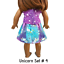 Unicorn-Top-amp-Skirt-18-034-Doll-Clothes-fits-American-Girl-dolls thumbnail 16